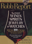 Robb Report Nov 2006